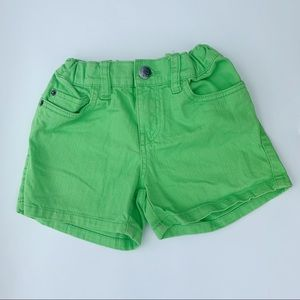 1989 Place Lime Green Shorts